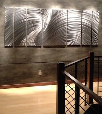 Large Metal Art; Huge Public Displays, Corporate Installs, Large Within Popular Big Metal Wall Art (View 8 of 15)