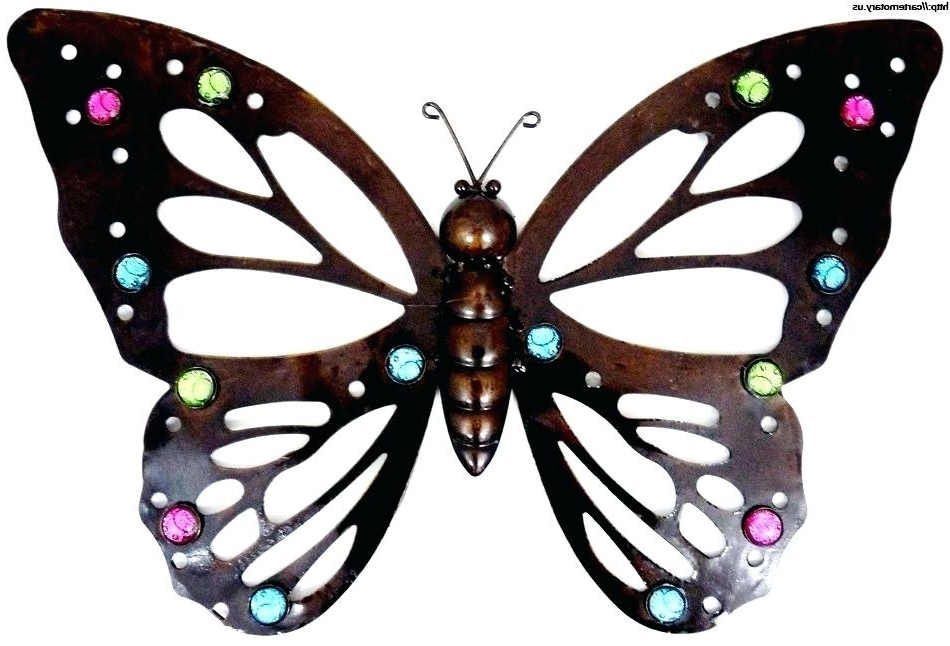 Large Metal Butterfly Wall Art Large Wall Art Large Metal Wall Art Pertaining To Most Recently Released Large Metal Butterfly Wall Art (View 7 of 15)