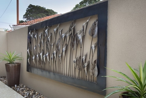 Featured Photo of Large Metal Wall Art For Outdoor