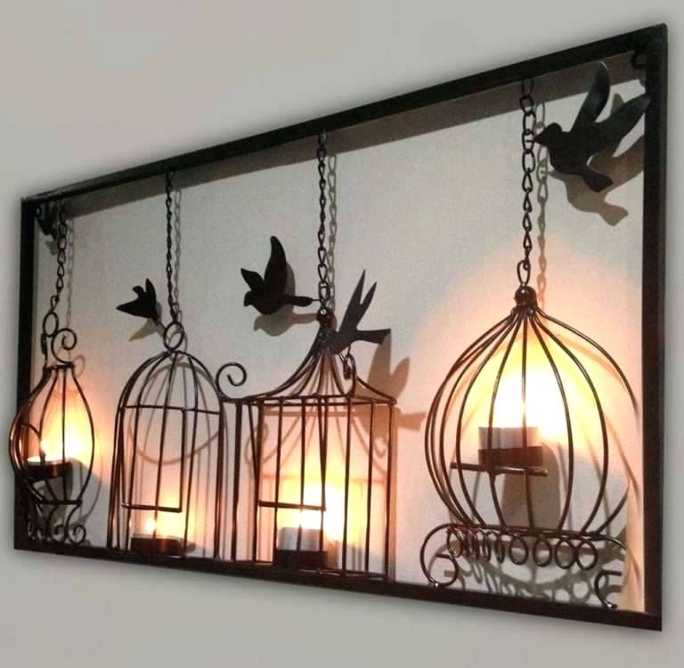 Large Metal Wall Decor Outdoor Wall Decor Large Elegant Arresting For Latest Big Metal Wall Art (View 9 of 15)