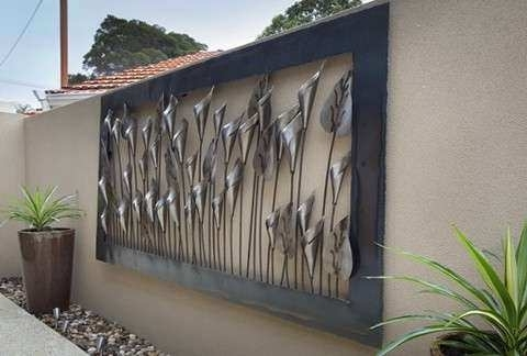 Featured Photo of Metal Large Outdoor Wall Art
