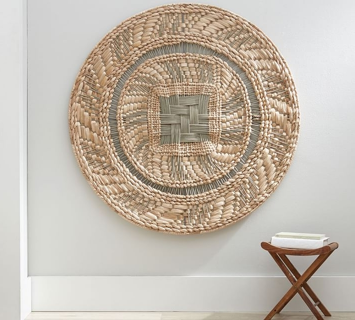 Large Round Wall Art Intended For Well Liked Amazon Com Wood Carved Wall Art Panels Large Round Decor 81Pw6Vkbmnl (View 10 of 15)