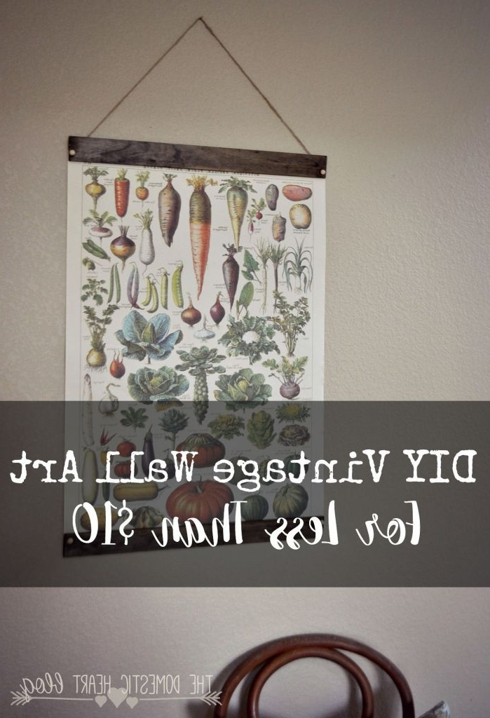Featured Photo of Large Vintage Wall Art