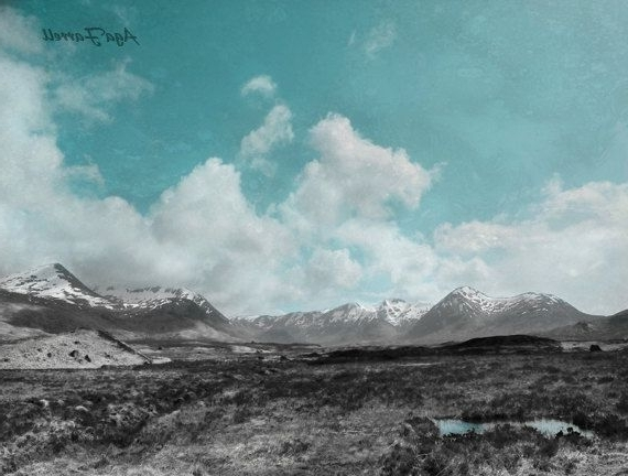 Large Wall Art, Mountain Photography, Landscape Print, Blue Wall Art Inside Latest Turquoise And Black Wall Art (View 7 of 15)