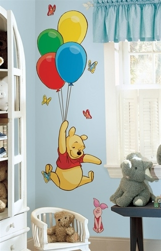 Large Wall Decals Of Winnie The Pooh And Piglet – Winnie The Pooh Regarding Famous Winnie The Pooh Wall Decor (View 5 of 15)