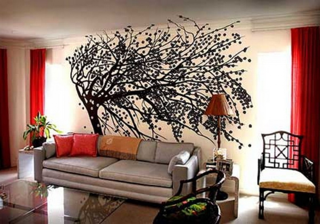 Large Wall Decorating Ideas For Living Room Magnificent Decor Within 2018 Large Unique Wall Art (View 3 of 15)