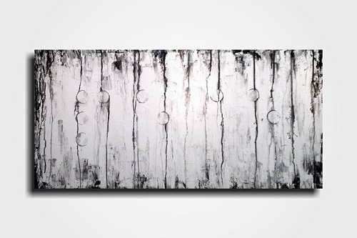 Large White Wall Art With Popular Large Black And White Wall Art – Elitflat (View 8 of 15)