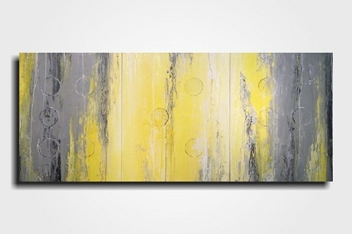 Large Yellow Wall Art For Well Liked Stylish Inspiration Ideas Grey And Yellow Wall Art Home Wallpaper (View 6 of 15)