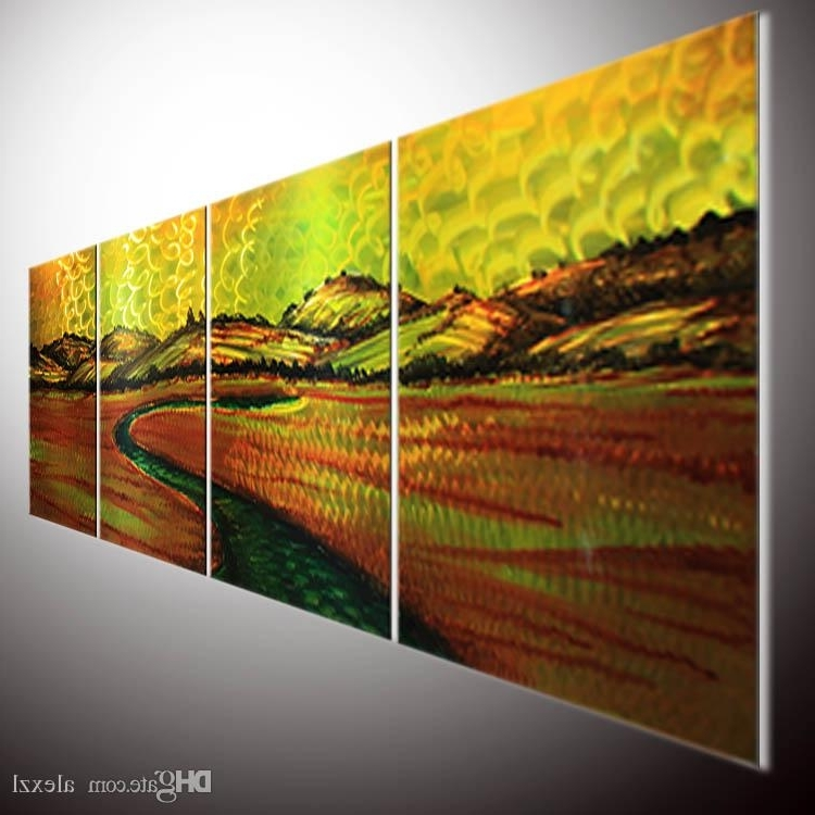 Latest 2018 Metal Painting Original Abstract Wall Art Metal Sculpture Wall With Original Abstract Wall Art (View 5 of 15)