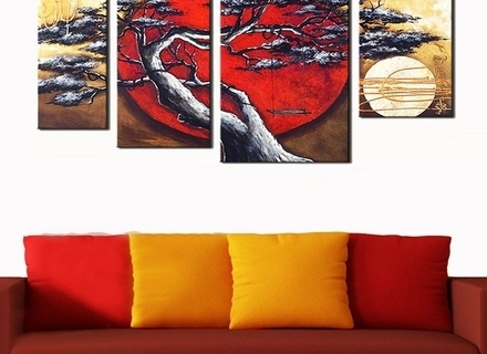 Latest 23 Japanese Wall Art Panels, 25 Best Ideas Of Japanese Wall Art With Regard To Japanese Wall Art Panels (View 8 of 15)