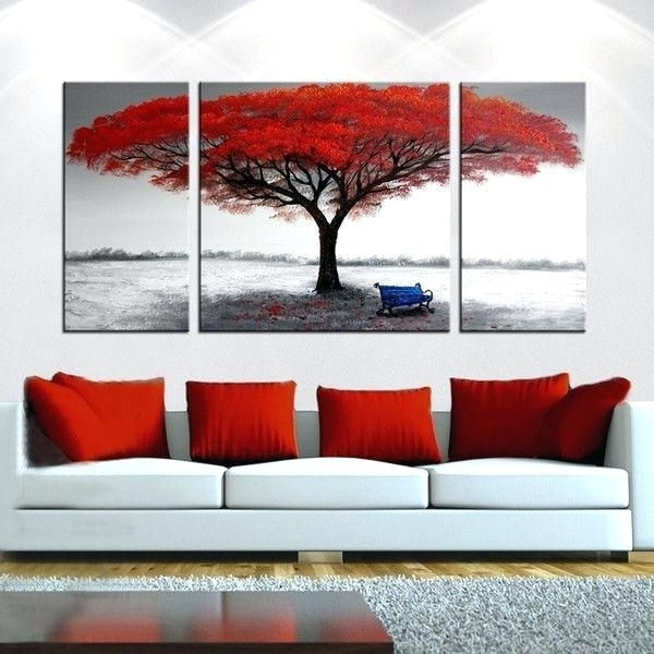 Latest 3 Piece Art A Liked On Featuring Home Home Decor Wall Art Oversized for 3 Piece Canvas Wall Art Sets
