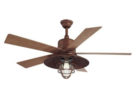 Latest 37 Rustic Outdoor Ceiling Fans, Rustic Ceiling Fans With Lights Regarding Hampton Bay Outdoor Ceiling Fans With Lights (View 14 of 15)