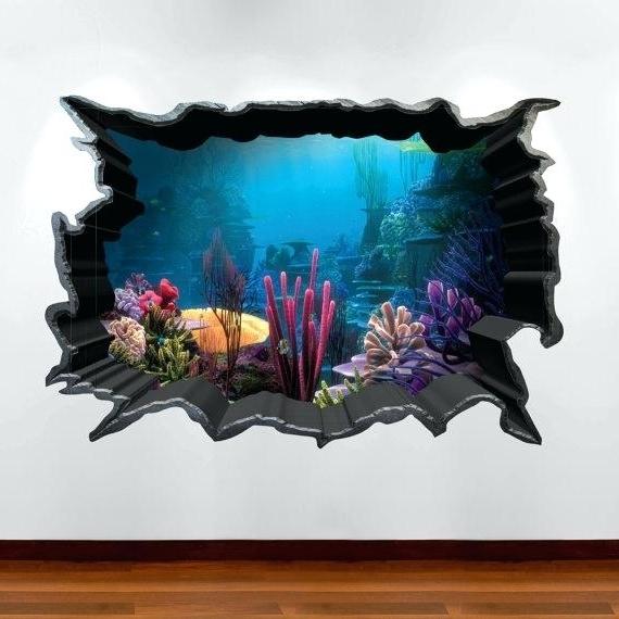 Latest 3D Wall Art 3D Effect Canvas Wall Art – Danielsantosjr Within 3D Artwork On Wall (View 7 of 15)