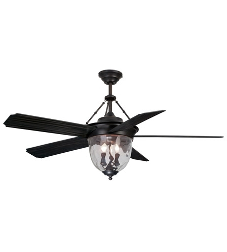 Latest 52 Inch Outdoor Ceiling Fans With Lights With Regard To Craftmade Km52Abz5Lkrci Knightsbridge 52 Inch Aged Bronze With (View 14 of 15)