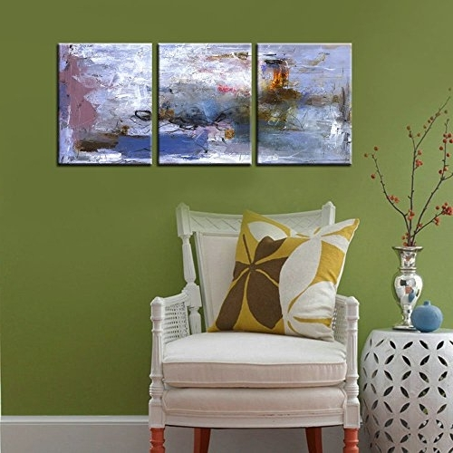 "Latest Abstract Nature Wall Art For Canvas Wall Painting "" Abstract Nature"" Canvas Prints Modern (View 9 of 15)"