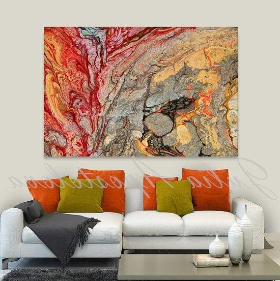 Latest Abstract Paintings For Living Room – Palesten – For Abstract Wall Art For Living Room (View 8 of 15)