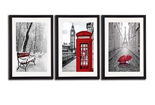Featured Photo of Black White And Red Wall Art