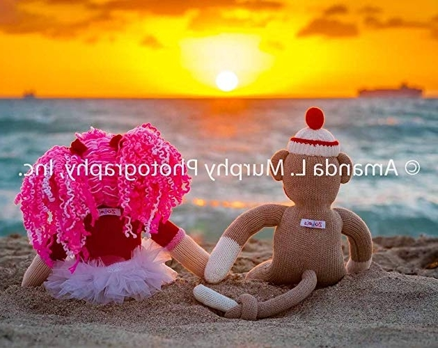 """Latest Amazon: Sock Monkey Wall Art – """"summer Of Love"""" Photograph For Intended For Sock Monkey Wall Art (View 6 of 15)"""