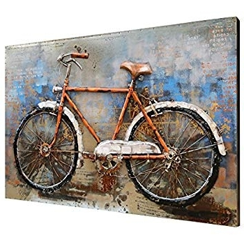 Latest Bicycle Wall Art Decor Pertaining To Bavujw Bicycle Wall Decor Beautiful Wall Art Decor – Rfequilibrium (View 5 of 15)