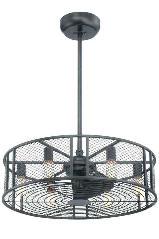 Latest Caged Ceiling Fan Best Drum Ceiling Fans Flush Mount Ceiling Fan With Regard To Outdoor Caged Ceiling Fans With Light (View 8 of 15)