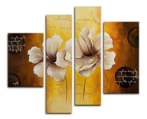 Latest Cheap Wall Art Sets With Regard To Cheap Canvas Wall Art – Modern Wall Art – Abstract Canvas Art Sets (View 3 of 15)