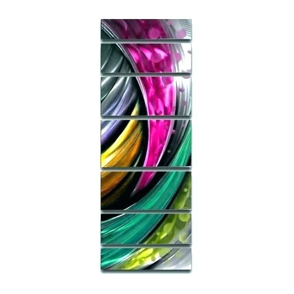 Latest Colorful Metal Wall Art Colorful Metal Wall Art M Wall Art Abstract Inside Abstract Metal Fish Wall Art (View 7 of 15)