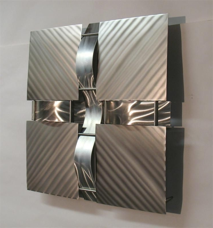 Featured Photo of Contemporary Metal Wall Art Sculpture