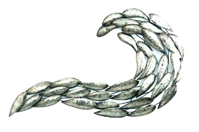 Latest Couple School Of Fish Wall Art Sample Great Nice Wallpaper Stainless For Fish Shoal Metal Wall Art (View 8 of 15)