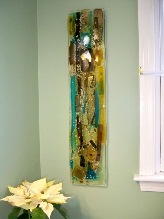 Latest Fused Glass Wall Art (View 2 of 15)