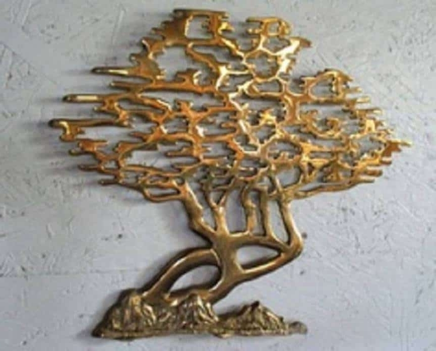 Latest Golden Bronze Tree Wall Art : Tree Wall Art Decoration With Bronze Tree Wall Art (View 8 of 15)