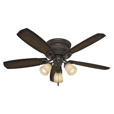 Latest Hugger Ceiling Fans – Flush Mount Low Profile Fans For Low Ceilings In Outdoor Ceiling Fan With Light Under $ (View 13 of 15)
