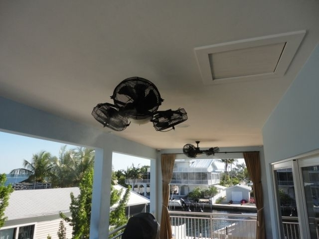 Latest I Would Really Like One Of These Outdoor Misting Ceiling Fans And in Outdoor Ceiling Fans With Misters