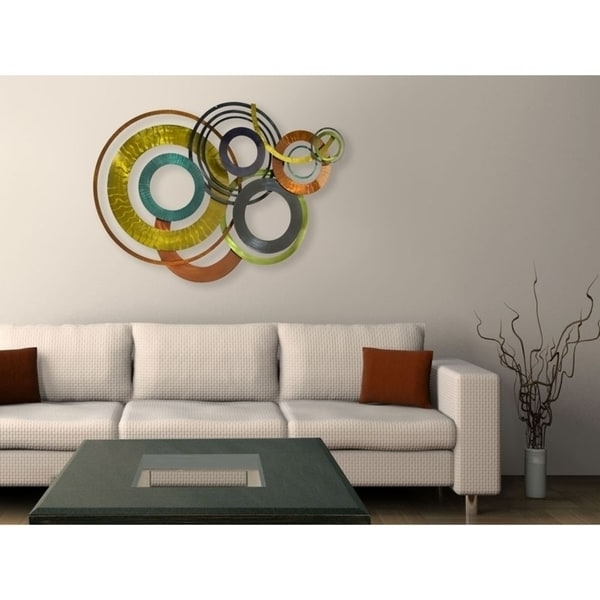 Featured Photo of Kindred Abstract Metal Wall Art
