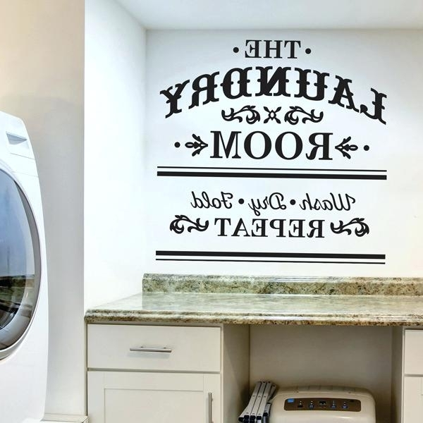 Latest Kohls Wall Decals Inside Kohls Wall Decals Also Laundry Room Wall Decals From Paper Riot Co (View 14 of 15)