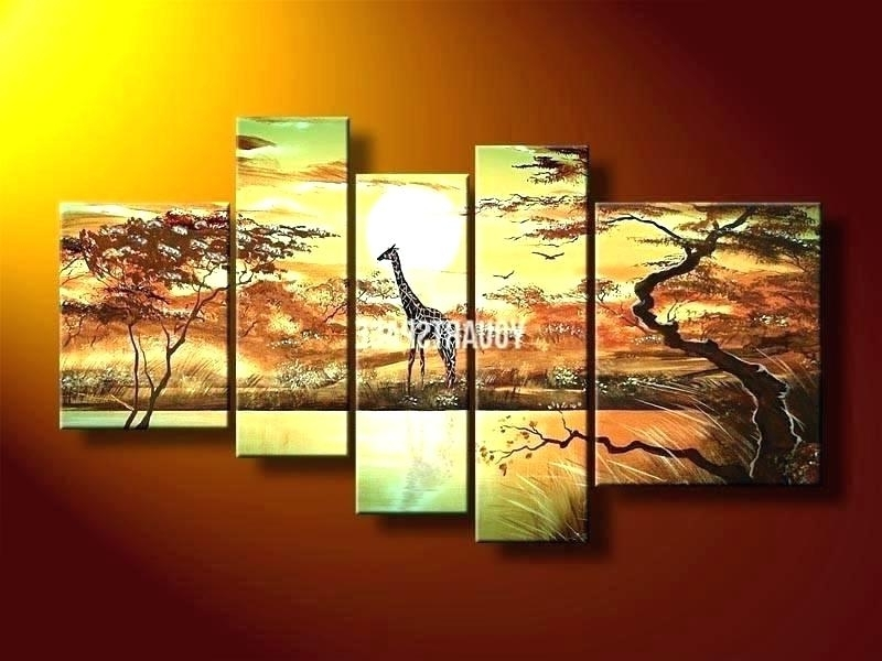 Latest Multiple Piece Canvas Wall Art Intended For Multiple Piece Canvas Wall Art – Verged (View 7 of 15)