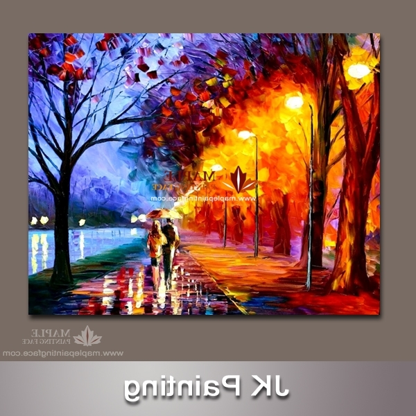 Latest Oil Painting Wall Art On Canvas Intended For Canvas Wall Paintings Wall Art Decor Oil Painting On Canvas Wall (View 6 of 15)
