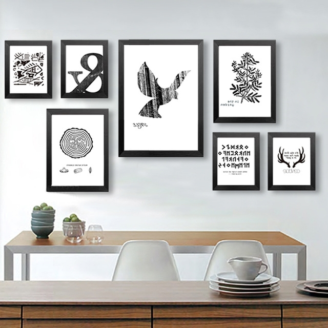 Latest Peachy Ideas Wall Art Posters Remodel Decorative Frames Designs In Abstract Wall Art Posters (View 9 of 15)