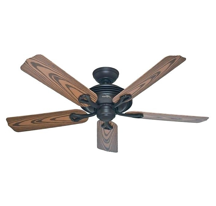 Latest Portable Outdoor Ceiling Fans Regarding Bronze Outdoor Ceiling Fan Hunter Mariner Outdoor Ceiling Fan In New (View 10 of 15)