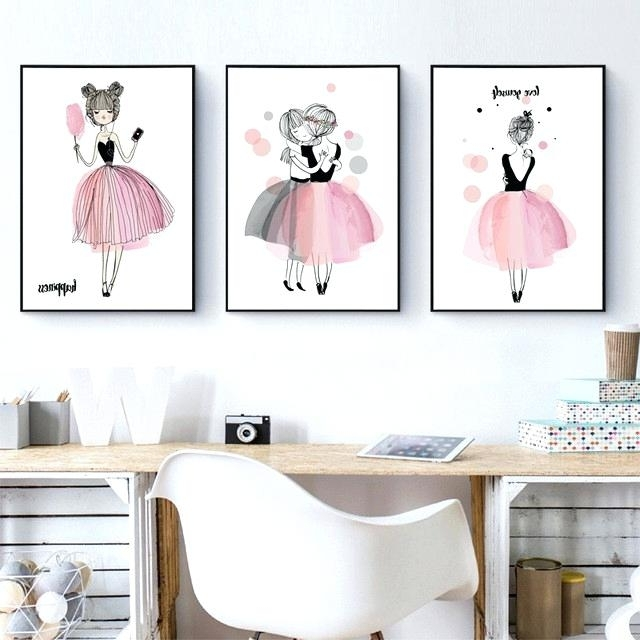 Latest Posters For Girl Rooms Classy Ideas Girls Room Wall Decor Girl Within Classy Wall Art (View 8 of 15)