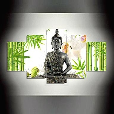 Latest Silver Buddha Wall Art Within Large Buddha Wall Art Silver Wall Art Frame Wallpaper Desktop  (View 6 of 15)