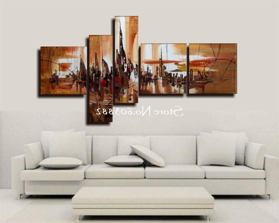 Latest Three Piece Wall Art Sets With Regard To Sweet Looking 3 Piece Wall Art Set Canvas Panel Modern Contemporary (View 6 of 15)