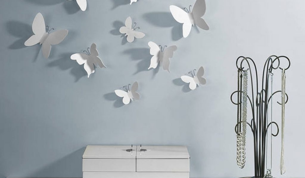 Latest Umbra Butterfly Wall Decor Inspirational 15 Ideas Of Umbra 3D Flower With Regard To Umbra 3D Flower Wall Art (View 14 of 15)
