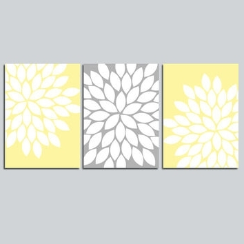 Latest Wall Art Designs Yellow And Gray Wall Art Wall Art Design Ideas With Yellow Grey Wall Art (View 4 of 15)