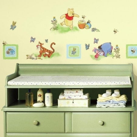 Latest Winnie The Pooh & Friends Wall Art Archives • Stickythings Wall For Winnie The Pooh Wall Art (View 5 of 15)