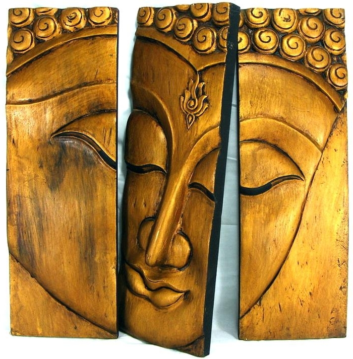 Latest Wooden Buddha Wall Art Wood Wall Art Wood Wall Art Wall Art Ideas In Buddha Wooden Wall Art (View 8 of 15)