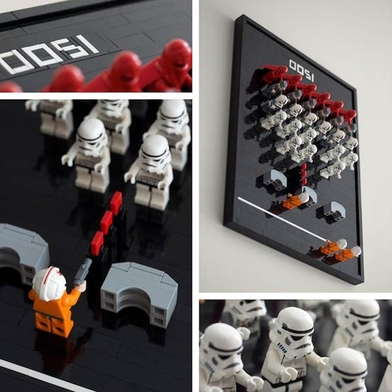 Lego Star Wars Wall Art In Most Recently Released 18 Awesome Boys Lego Room Ideas! (View 7 of 15)