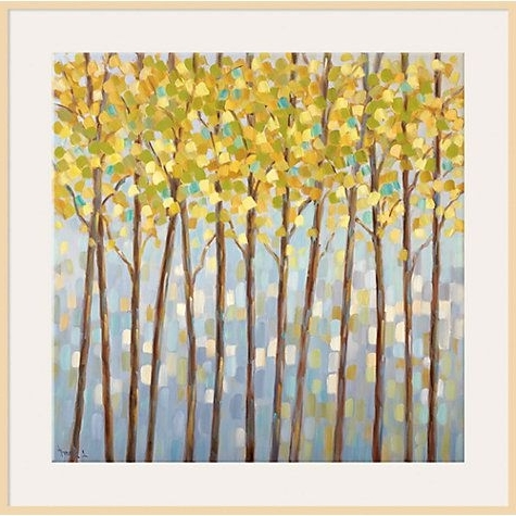 Libby Smart – Glistening Tree Top, Dark Brown Framed Canvas (View 2 of 15)