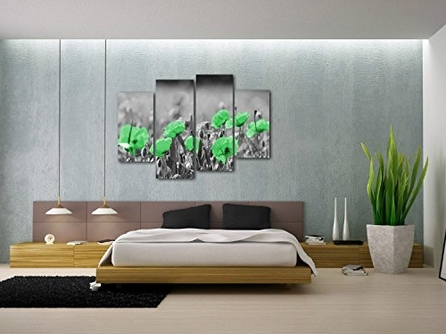 Lime Green Wall Canvas Art To Decorate Bare Walls Pertaining To Well Known Lime Green Wall Art (View 7 of 15)