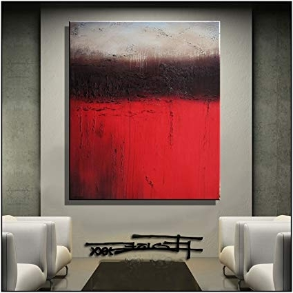 Limited Edition Canvas Wall Art Inside Latest Amazon: Modern, Abstract, Canvas Wall Art, Painting, Limited (View 8 of 15)