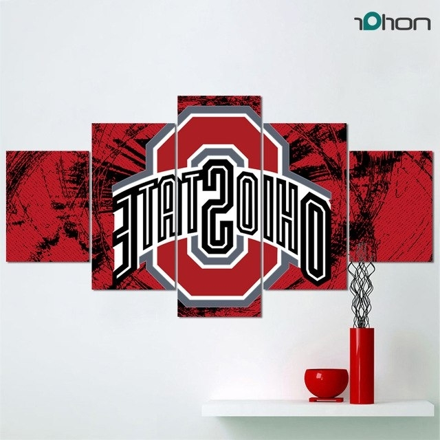 Limited Edition Canvas Wall Art With Regard To Most Recent Limited Edition Contemporary Giclee Print The Ohio State University (View 13 of 15)
